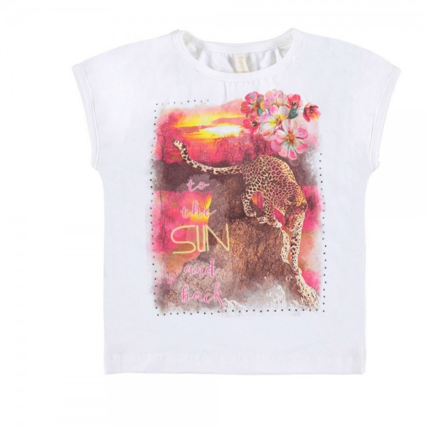 PAMPOLINA Mädchen T-Shirt - JUICY JUNGLE 6684053