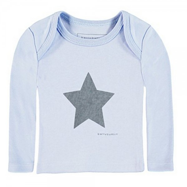 BELLYBUTTON Langarmshirt blau - NOS HOME COLLECTION 0007125