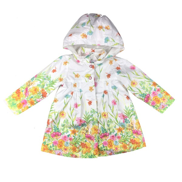 PAMPOLINA 6563059 Parka - White Flowers