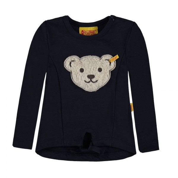 STEIFF Sweatshirt 1/1 Arm blau - SPORTY GIRL 6713013