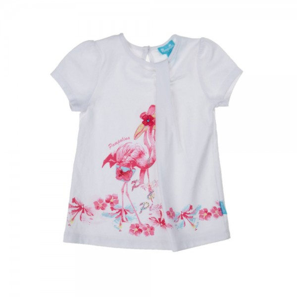 PAMPOLINA T-Shirt 1/4 Arm - FLAMINGO BEACH 6563161