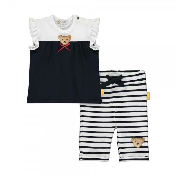 STEIFF 2tlg. Set T-Shirt + Leggings L002012227 blau