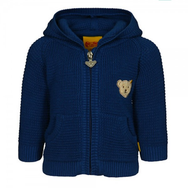 STEIFF Strickjacke mit Kapuze - BLUE ZONE 6713507