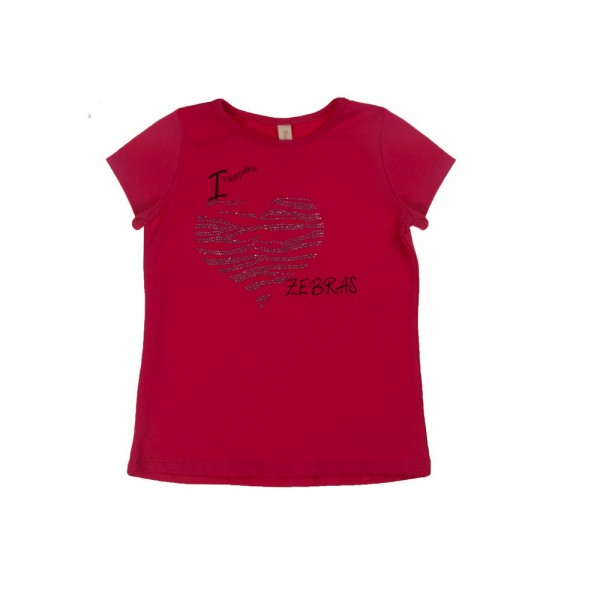 PAMPOLINA T-Shirt 1/4 Arm - ZEBRA LOVE 6564131