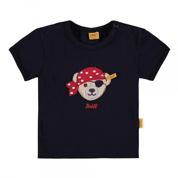 STEIFF T-Shirt 1/4 Arm blau - LITTLE PIRAT 6712521
