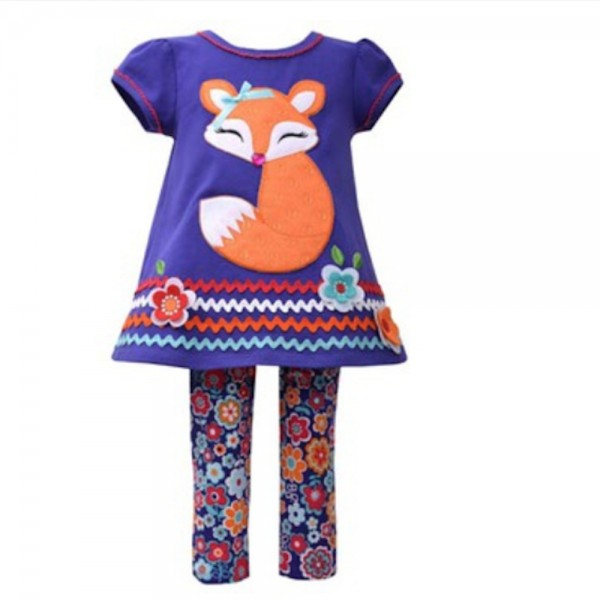 BONNIE JEAN 2tlg. SET Kleid & Leggings - FOX B25385PS