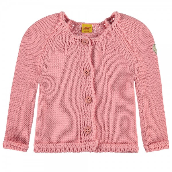 STEIFF Baby Strickjacke rosa - SWEET HEART 6712307